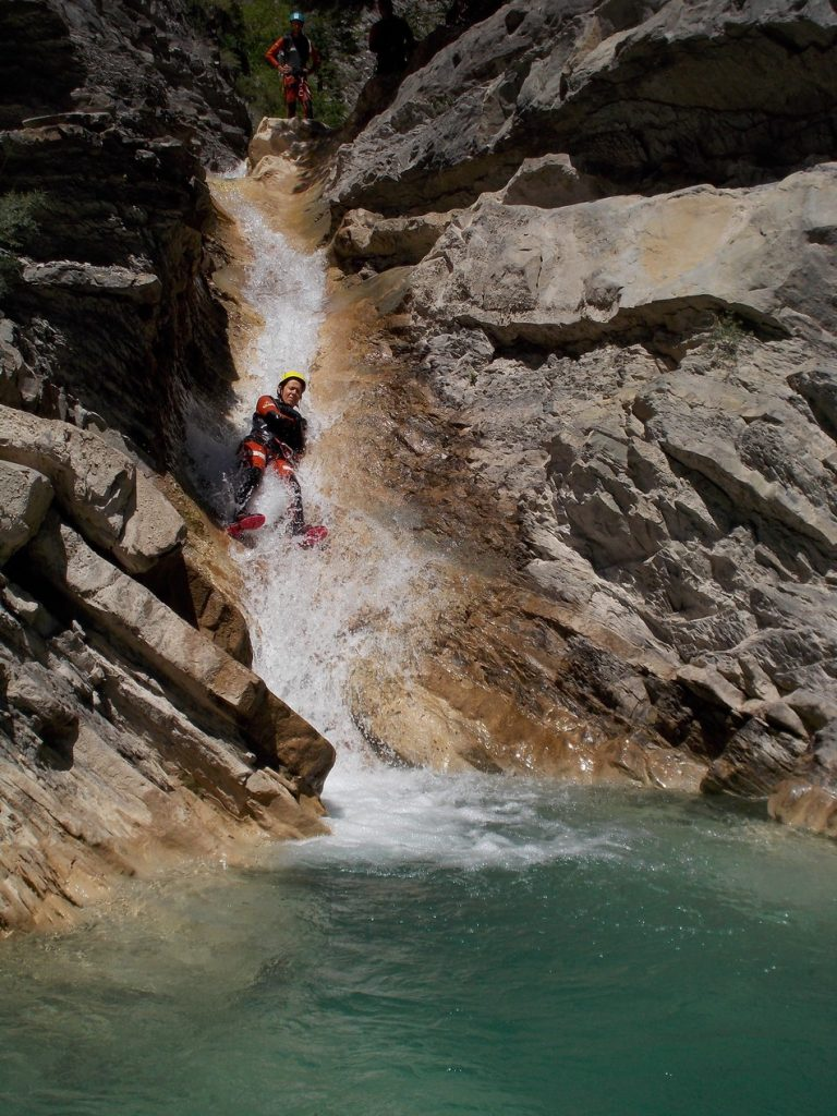 canyoning - La Siresa